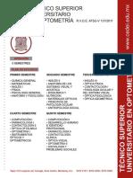 Licenciatura en optometria