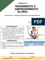 Capítulo 11 Emprendimiento e Intraemprendimiento Global