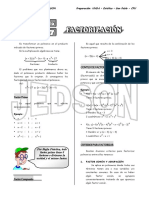 7 - Factorización