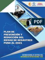 4. Plan Prevencion Reduccion Del Riesgo Desastres PUNO Al 2021