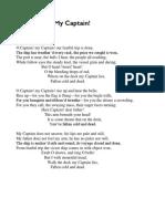 Pat- Declamation Piece