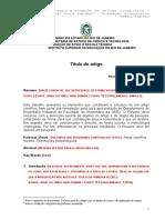 Modelo Artigo Científico 2013 210813