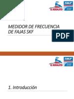 Instalación de Correas Trapezoidales SKF - Medidor de Frecuencia