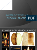 Different Types of Chemical Reaction