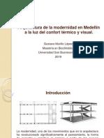 Arquitectura de La Modernidad en Medellín