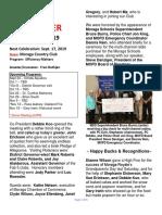 Moraga Rotary Newsletter Septenber 10 2019