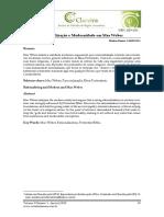 Racionalização e Modernidade Em Max Weber