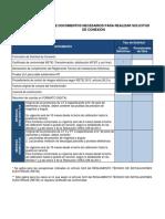 Listado Documentos Necesarios Energizacion Codensa
