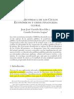 Teoria Austriaca de Los Ciclos Economicos y Actual Crisis Financiera Global