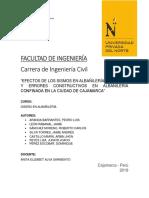 GRUPO N°4.DEFECTOS ALBAÑILERIA