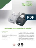Folleto Epson TM-U220D