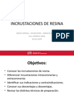 III Incrustaciones de Resina
