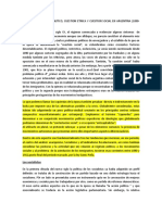 IZQUIERDAS, REGIMEN POLITICO, CUESTION ETNICA Y CUESTION SOCIAL EN ARGENTINA (1890-1912) -  RICARDO FALCON