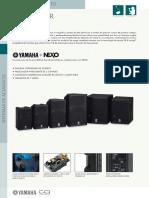Manual Yamaha DXR15