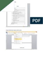Pasos Para Seccionar Un Documento de Word.