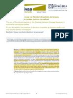 O uso da análise funcional na literatura brasileira de terapia comportamental