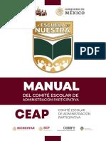 Manual Consejo Escolar de Administracion Participativa
