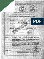 Constitucion de Sociedad en Bolivia