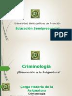 Presentación Criminologia