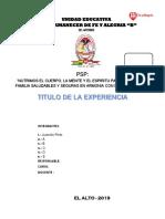 Formato de La Feria 2019 Sec