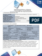 Guía Para El Desarrollo Del Componente Práctico - Instrumentación Industrial