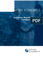 Economic Benefits From Air Transport in France - Oxford Economics, 2011