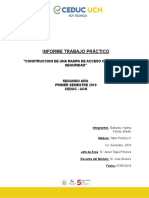 Informe Operacion Maquinaria Pesada 2019