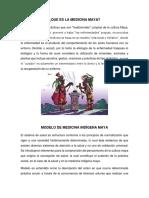Medicina Indígena Maya