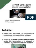 Asa, Cadiologica , Pulmonar y Neurologica
