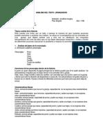 Analisis Del Cuento Ronquidos