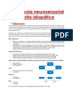 Hipoacusia Neurosensorial Súbita Idiopática