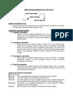 Market STP - Handouts