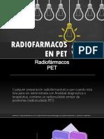 Radiofarmacos en PET