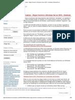 Migrar Dominio a Windos Server 2016