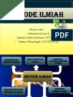 METODE ILMIAH-kelompok 2 SAINS DASAR B 2019.pptx