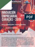 Innovación Empresarial Caracas 2019