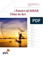 Pwc Gmc the Future of Asean Time to Act