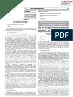 RESOLUCION N° 094-2019-COFOPRI/DE