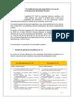 Estas Son Las 10 Modificaciones Más Importantes a La Ley de Contrataciones Del Estado Peruano