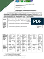 Informe Consolidado de Las Actividades (TIC)
