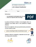 03a Hoja de Trabajo Estudiantes (Ciclo de La Leche y La Miel) - Secuencias Temporales Doc