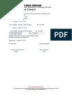 Data Laporan Rutin Reinburst Bulanan Pt Dgc