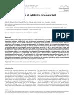 Regulation of Cytokinins in Tomato