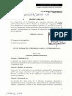 Ley de Promoción de la Cocina Peruana