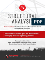 Prokon Brochure Structural Analysis 2017-08-29