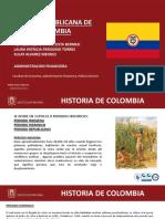 Epoca Republicana Colombia