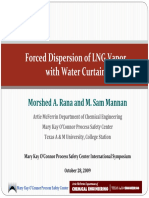 LNG Water Curtain