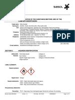 MSDS Ethyl Acetate
