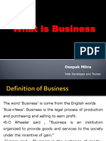 Introduction to Business by Deepak Mitra