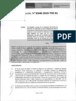 RESOLUCION N°348-2019-TCE-S1 (RECURSO APELACION)